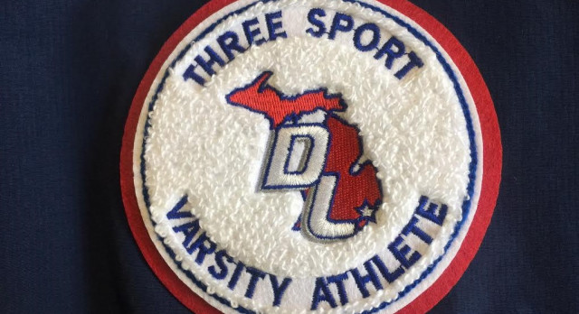 """""""3 Sport Varsity Letter"""" Patches Offered by Downriver League"""