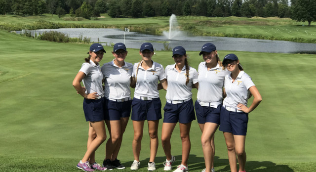 Trenton High School Girls Varsity Golf finishes 11th place
