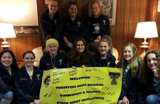 THS Swim & Dive Headed to MHSAA State Championships