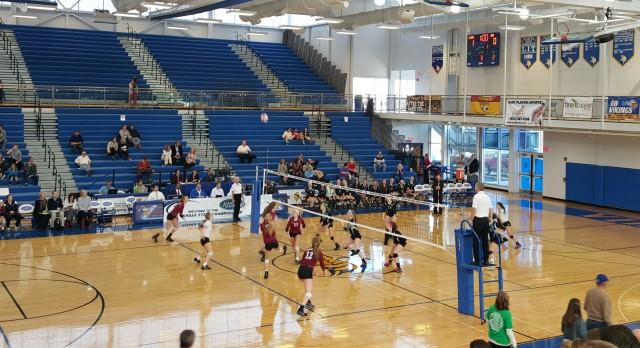 Assumption High School Girls Varsity Volleyball beat Owensboro Catholic (State Championship) 3-0