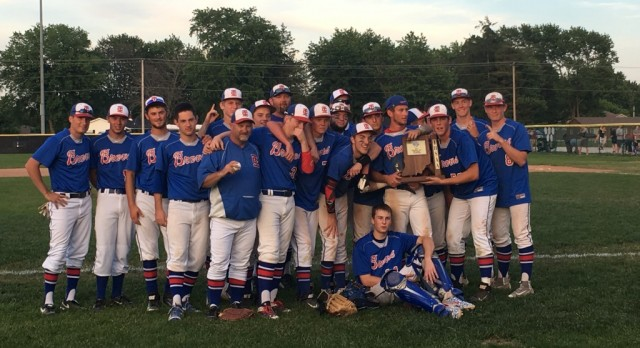 Baseball wins Sectionals!!