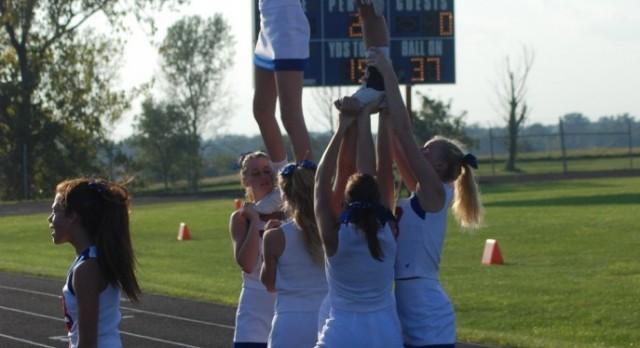 ICHS Cheerleading Clinic 2017