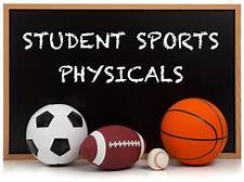 Spring Sports Physicals due January 23rd, 2017
