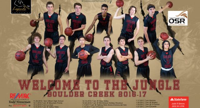 BC Boys Basketball takes on Pinnacle in Hoopcoming Home Game Friday 1/27