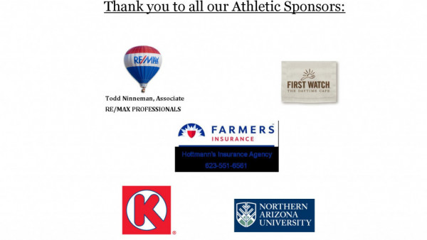Athletic Sponsors