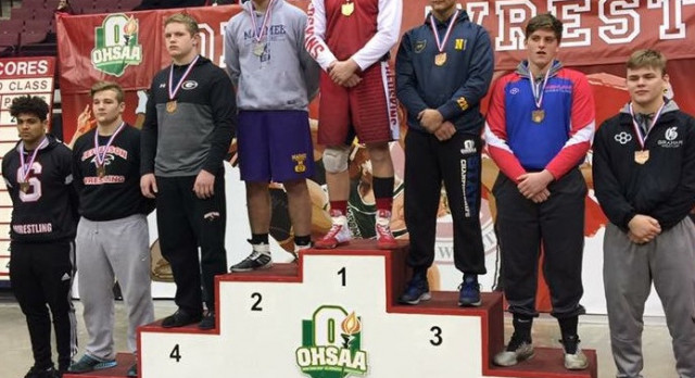 Congratulations to Zach Baker for finishing 5th at the State Wrestling Tournament!