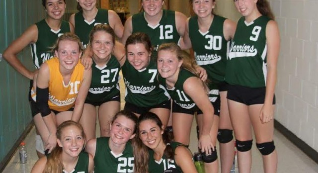 Forest Area Varsity Volleyball Team Knocks Off #4 Class D Onaway Last Night