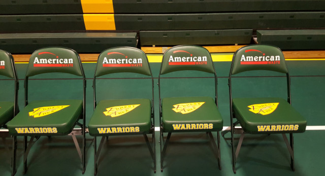 American Waste Sponsors Chairs!!