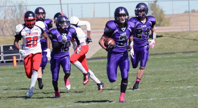 Arvada West Football opens League victorious on all 3 levels