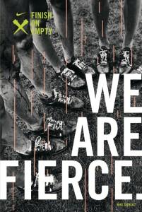 Nike we are fierce