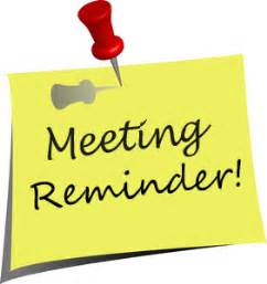 SB: Parent Meeting Tonight!