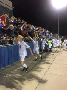 Soccer celebrates with BN