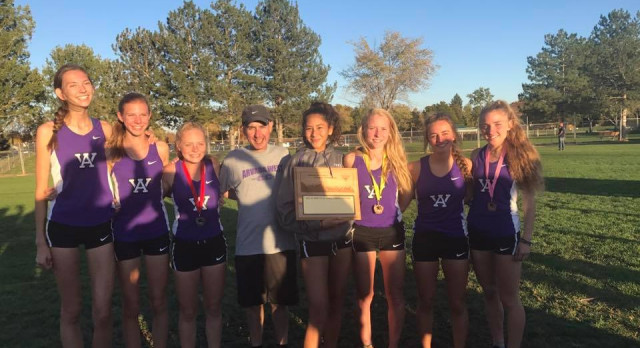 Girls Cross Country Wins 3rd Straight League Championship!