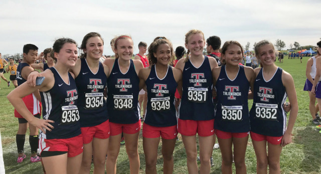 Girls Cross Country District Results
