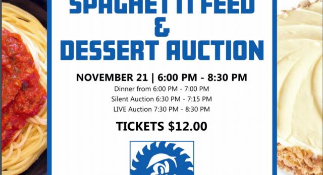 Baseball: Spaghetti Feed & Dessert Auction