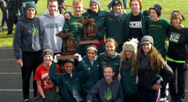 XC MHSAA Regional Champs – Boys 5x & Girls 2x