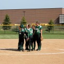 Calvin Softball at Zeeland East 4/19/14