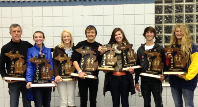 Calvin XC Seniors – 4 Years of Excellence
