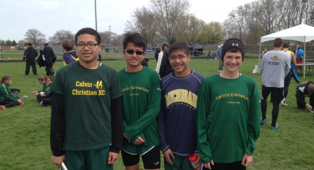 Track at Frank Grimm Relays