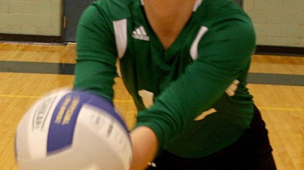 Jessie Versluis Shines as Go-To Player, Leader for Calvin Christian Volleyball