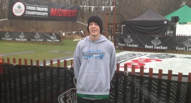 Visser 11th At Foot Locker Midwest