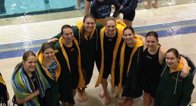 Girls swim season wraps up with great finishes!