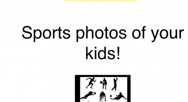 We need sports photos!
