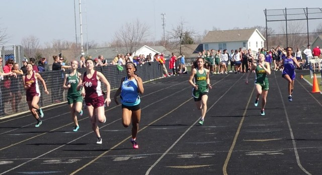 Track Teams at Houseward Invite