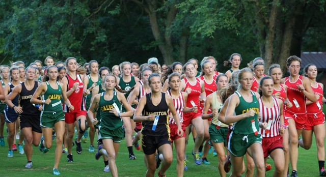Lady Harriers Race to Win at Kenowa Invite