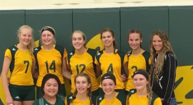 JV girls Volleyball OK Silver Conference Champs