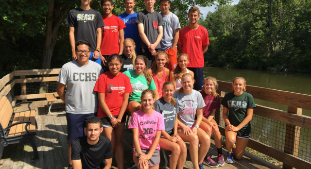 18 Seniors Lead XC To Fast Start!