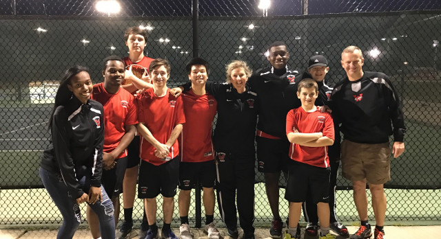 Westwood High School Boys Varsity Tennis beat Lugoff-Elgin High School 4-2