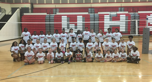 Redhawk Volleyball Camp Concludes