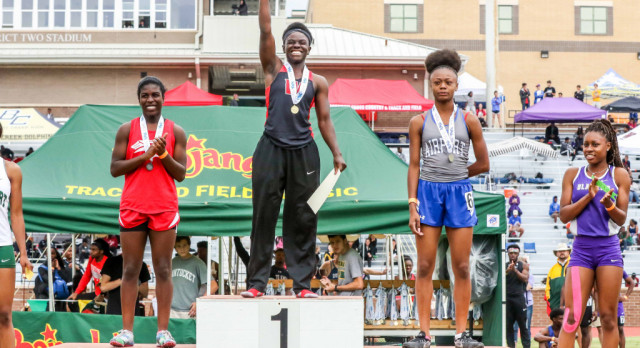 """Diamond Rush Named """"The State's"""" Female Track Athlete of Year"""