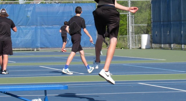 Rogers tennis advances, ultimately falls to tough Wayzata team
