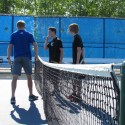 Rogers Boys Tennis vs. Spring Lake Park (Sections 05-18-2016)