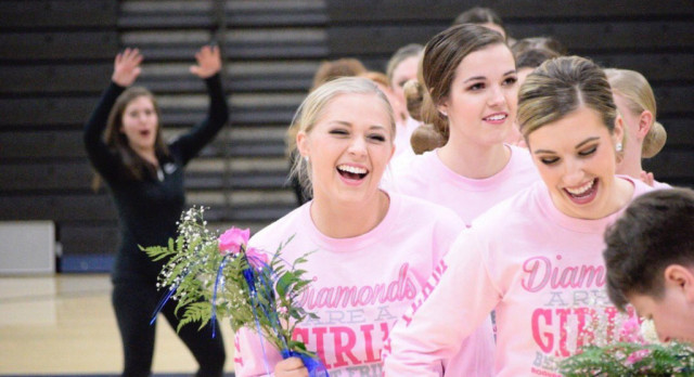 Dance Team ends successful season over the weekend!