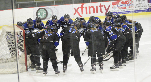 Girls hockey ends successful season with loss in semifinals