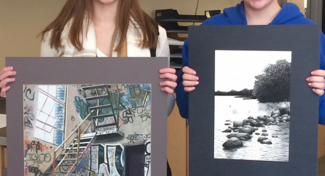 Kendra Bolster & Allie Roberts win Gold Medal in National 2017 Scholastic Art & Writing Awards!