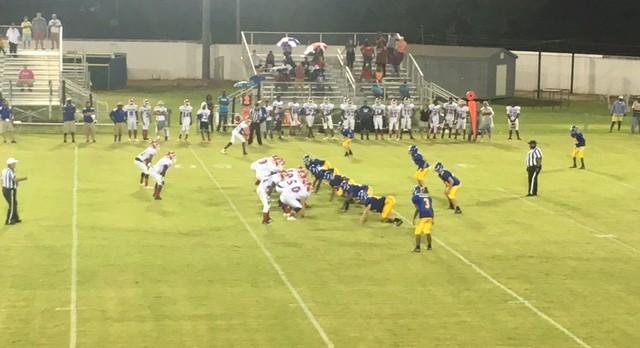Whitmire High School Varsity Football falls to Wagener-Salley High School 36-0