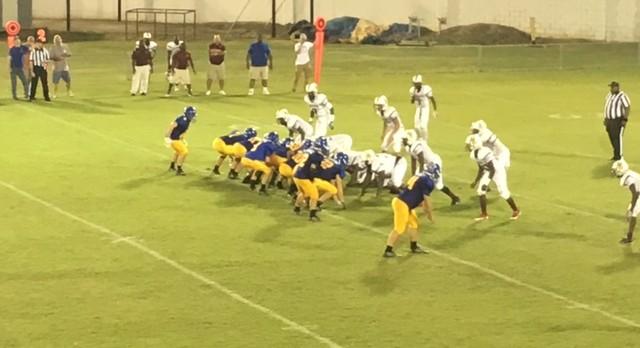 Whitmire High School Varsity Football falls to Bethune-Bowman 34-26