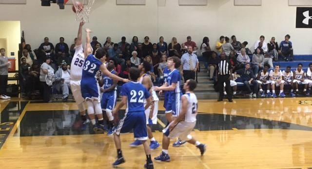 Whitmire High School Boys Varsity Basketball beat Newberry Academy 49-41
