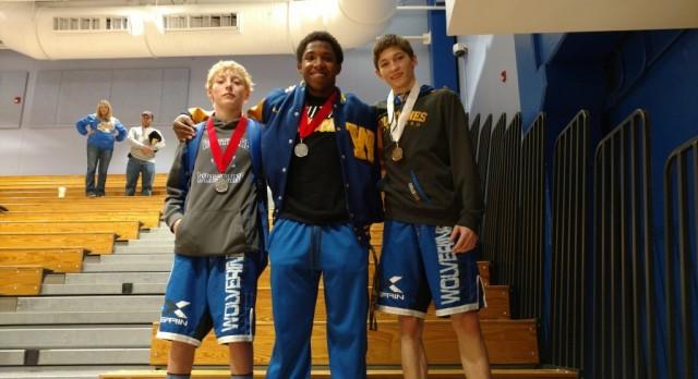 Wrestlers Earn Medals