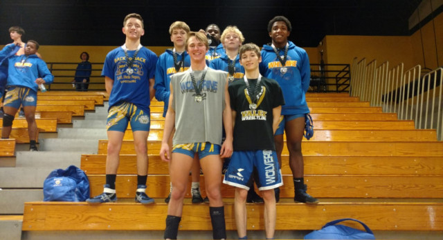 Wrestling Fares Well in Tournament