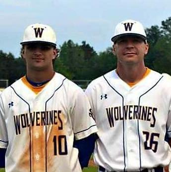 North/South Baseball Participants