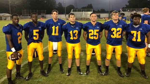 Whitmire High School Varsity Football beat Calhoun Falls High School 42-16