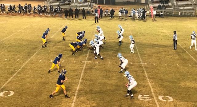 Whitmire High School Varsity Football falls to Hunter-Kinard-Tyler High School 50-10