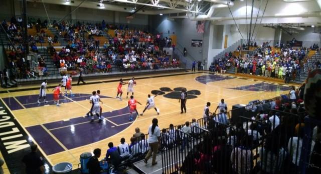 West Ashley High School Boys Varsity Basketball beat Burke High School 55-52