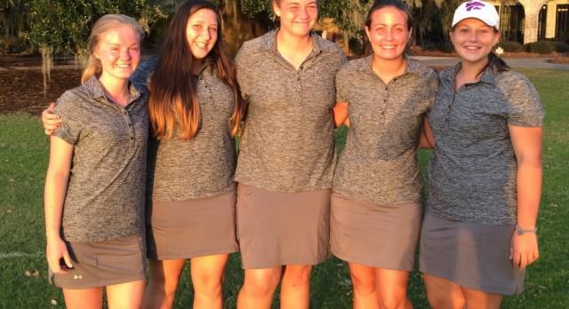 West Ashley High School Girls Varsity Golf finishes 4th