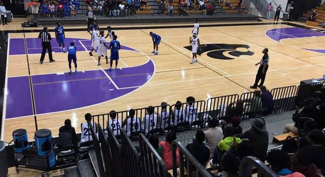 West Ashley High School Boys Varsity Basketball beat Wando High School 57-49